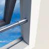 Afbeelding van Secubar Combi RVS Set voor Twist nokken inclusief barrierestang diameter 16 x 990mm SKG** 2010.355.030